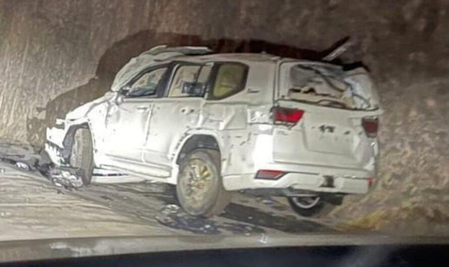 Новенькие Toyota Land Cruiser 300 разбили в ДТП до начала продаж (видео)