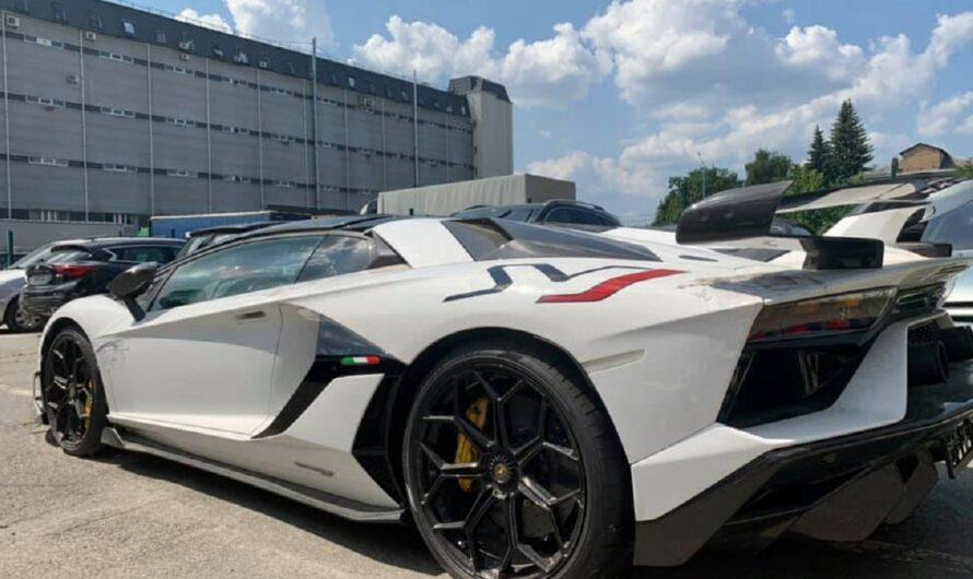 Киевская таможня конфисковала эксклюзивный Lamborghini за 600 тыс. евро