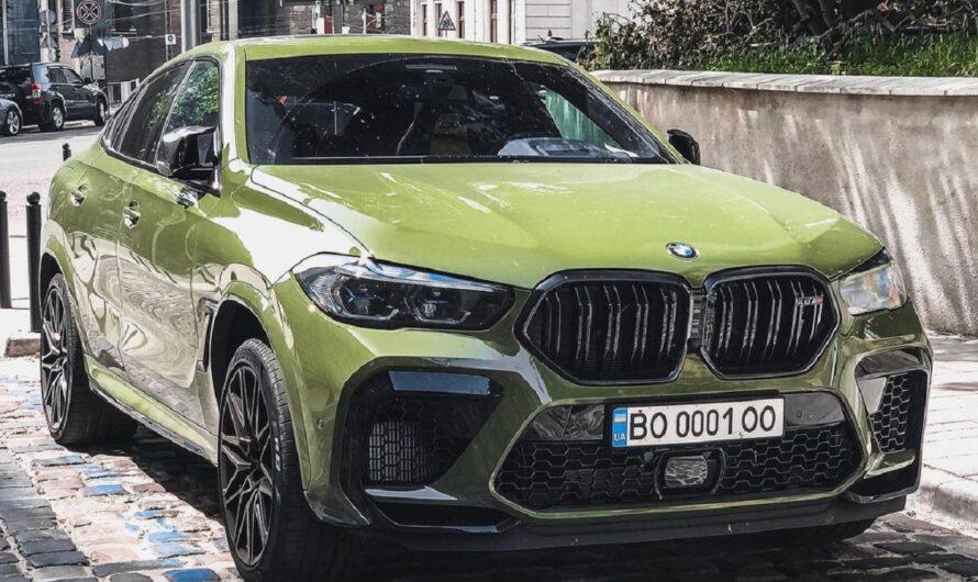 В Украине засняли яркий заряженный кроссовер BMW