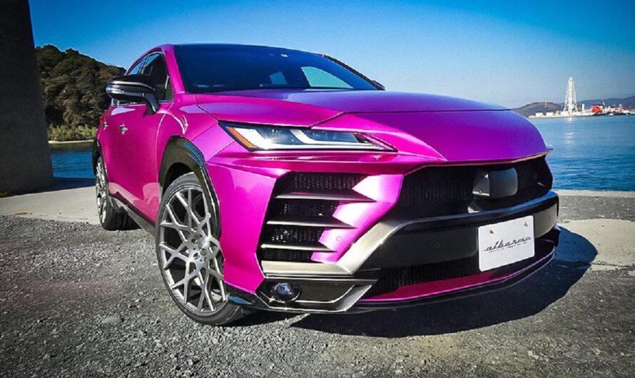 В Японии предложили переделку Тойоты в Lamborghini Urus