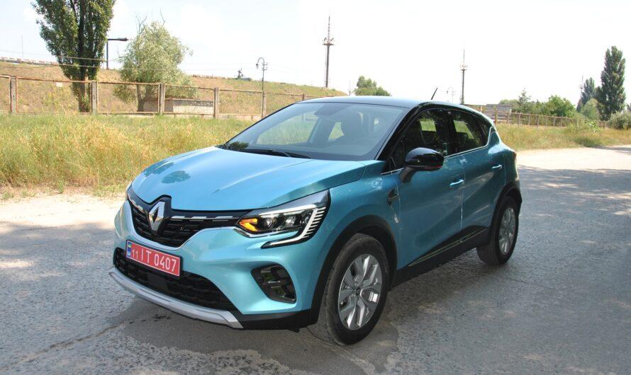 Тест-драйв нового Renault Captur 2021: повзрослевший