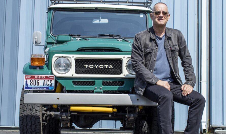Том Хэнкс рассказал о сделанном для него Toyota Land Cruiser