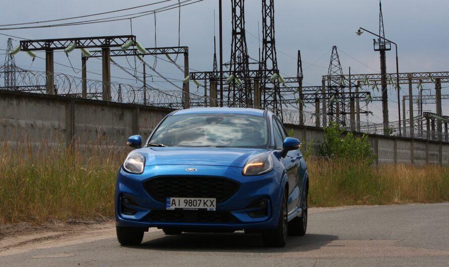 Тест-драйв кроссовера Ford Puma: маленький энерджайзер