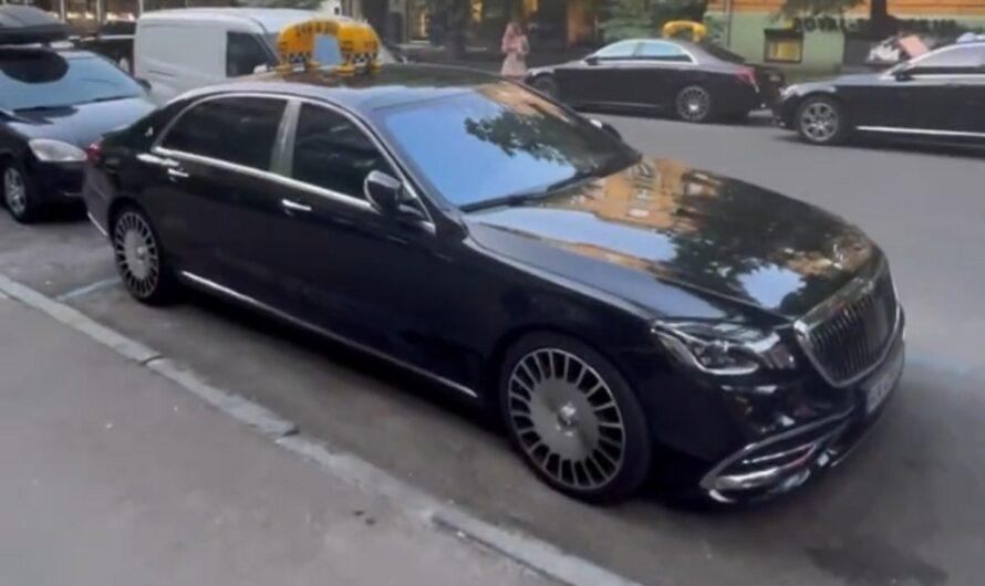 Как выглядит самое дорогое такси в Украине (видео)