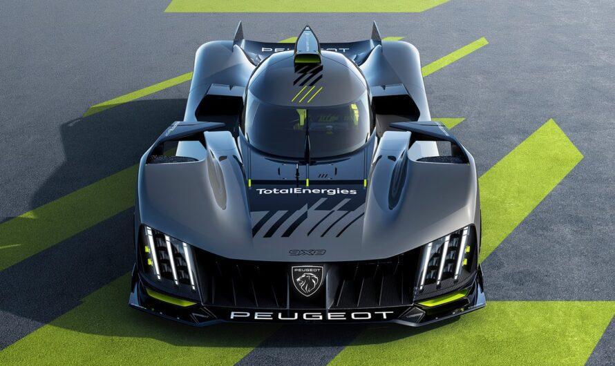 Первый суперкар Peugeot рассекречен на официальных изображениях