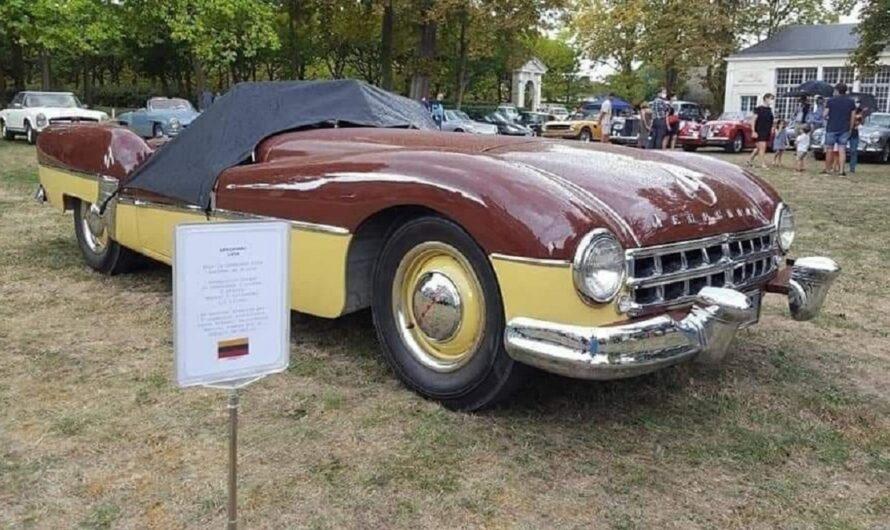 Самодельный советский спорткар стал звездой европейского ретро-шоу