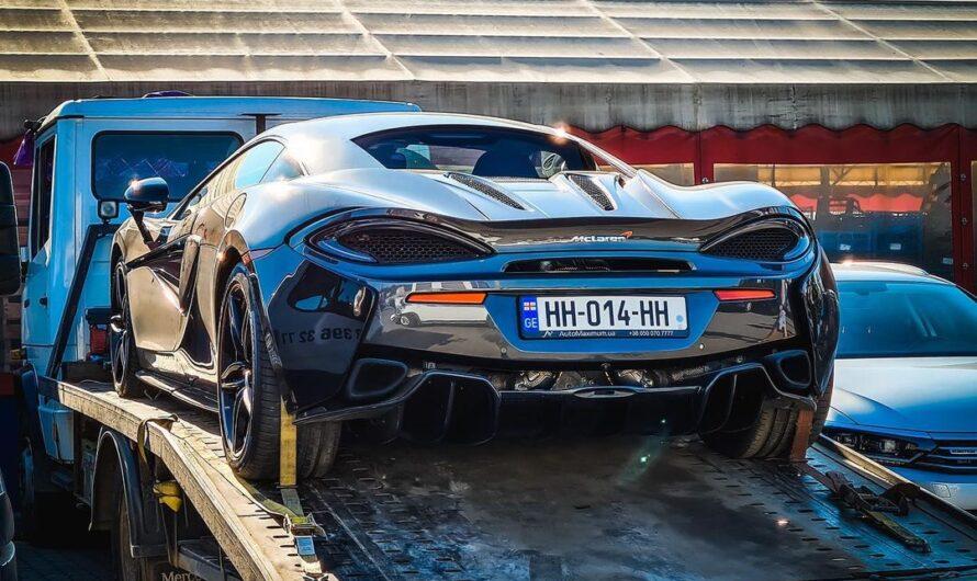 В Украине заметили суперкар McLaren на грузинских номерах (фото)