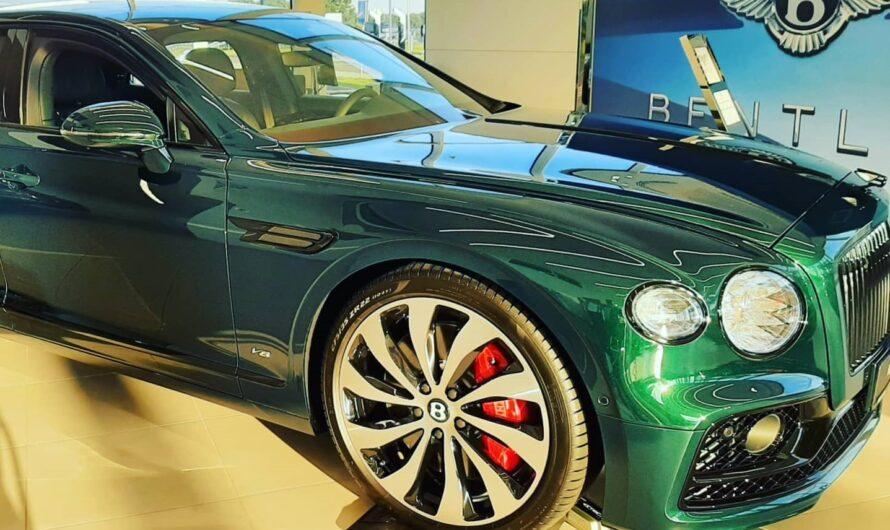 В Украину привезли очень необычный Bentley (фото)