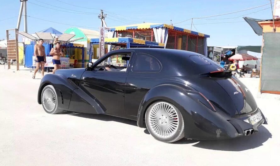 Необычный самодельный авто из Запорожья произвёл фурор в соцсетях