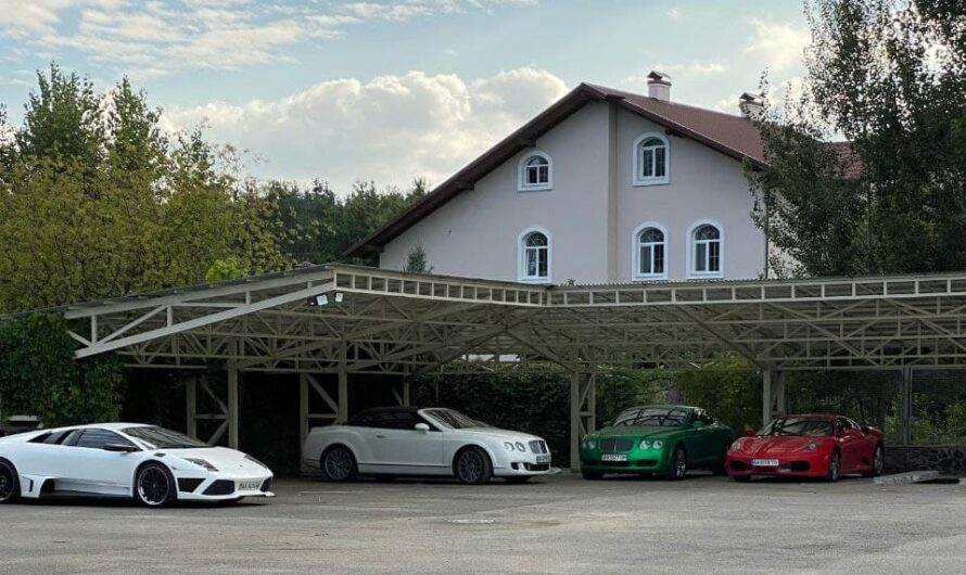Под Киевом обнаружили парковку с элитными авто как в Монако (фото)