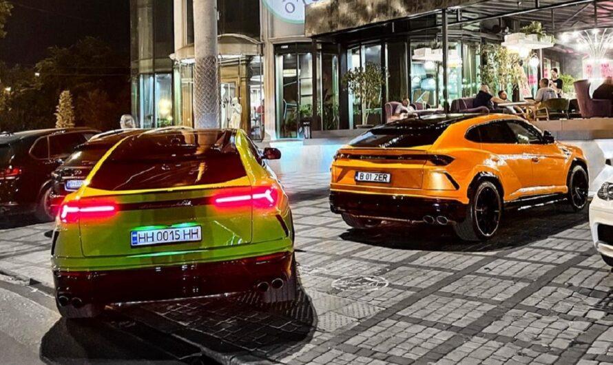 В Украине наблюдается нашествие внедорожных Lamborghini Urus (фото)