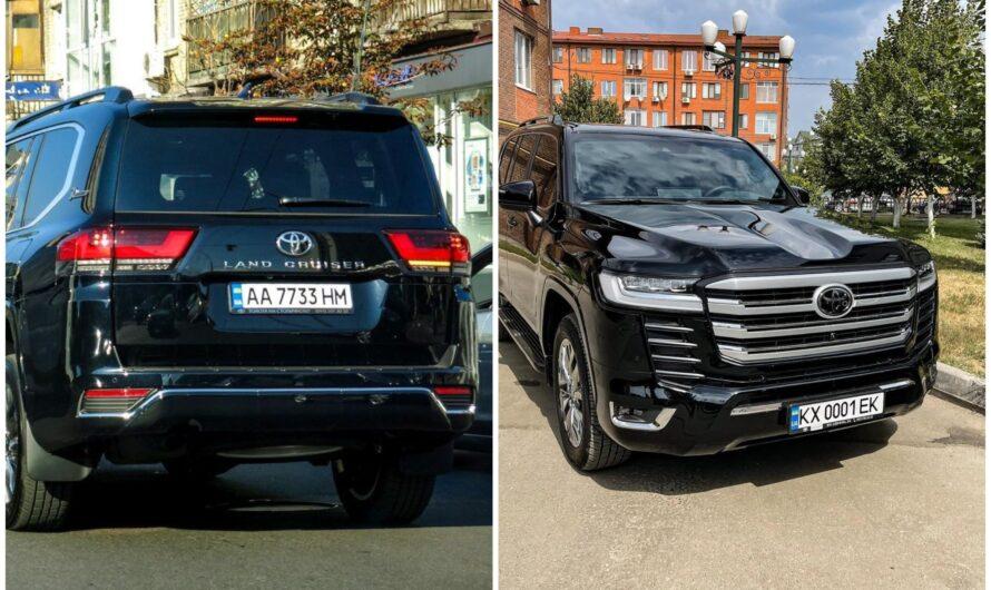 В Украине растет количество кортежей с новыми Toyota Land Cruiser 300