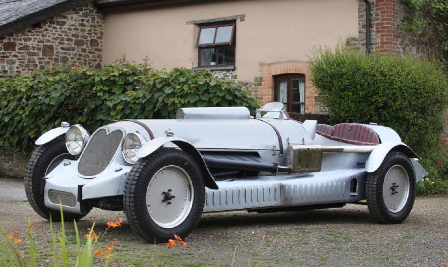 На аукцион выставили авто с самым большим в мире мотором