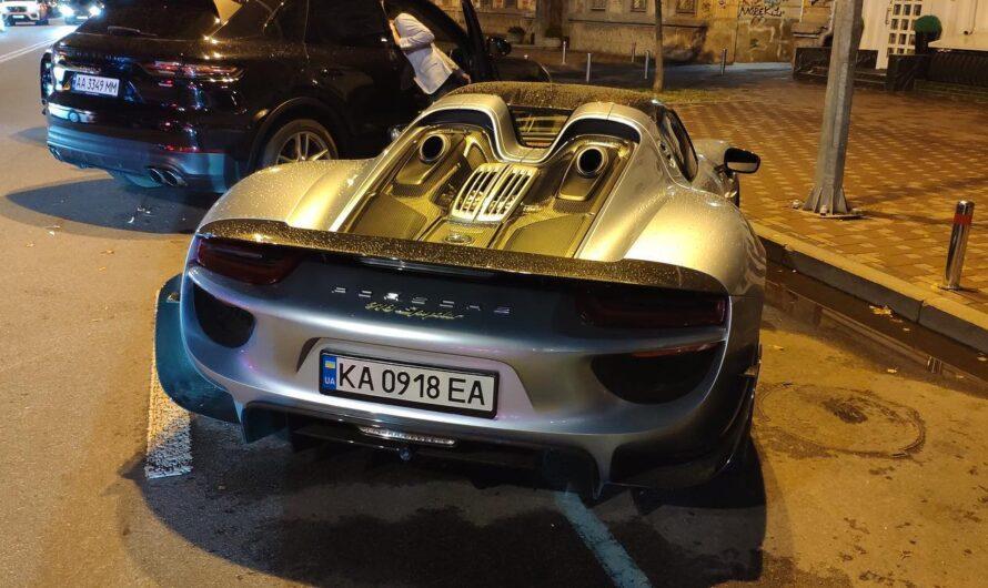 Появились новые подробности про самый дорогой суперкар Porsche в Украине (фото)