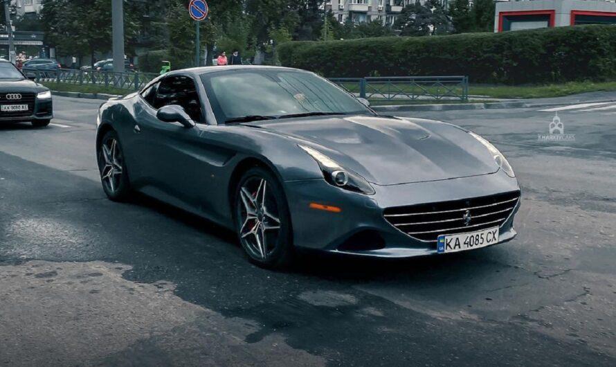 В Украине засняли крутой суперкар Ferrari