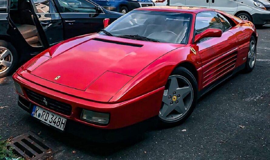 В Украине заметили редкий суперкар Ferrari 90-х