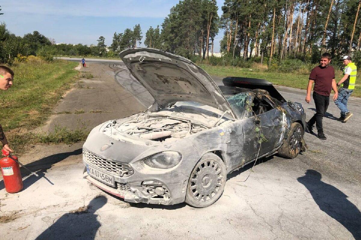 В Украине разбили очередной редкий суперкар 2