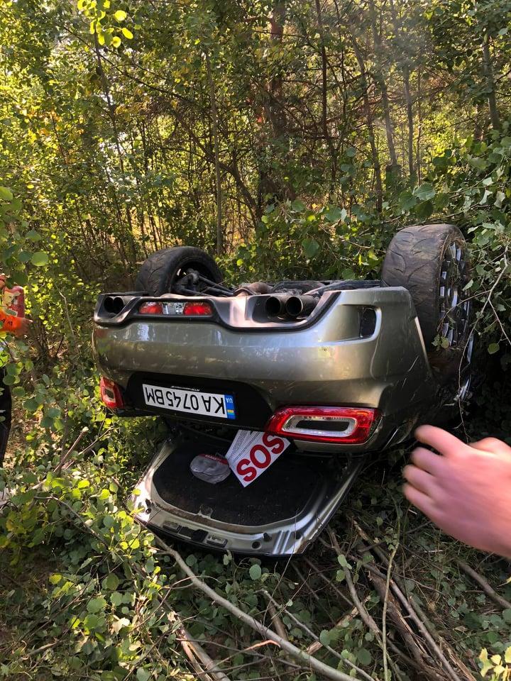 В Украине разбили очередной редкий суперкар 1
