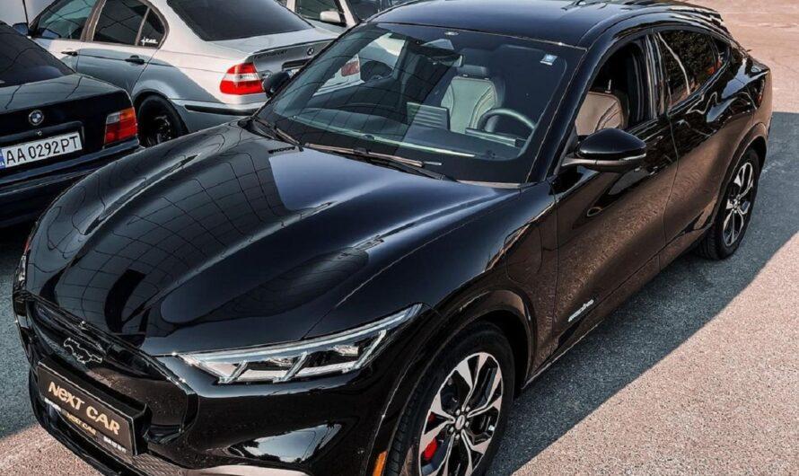В Украине появился новейший электрокроссовер Ford Mustang