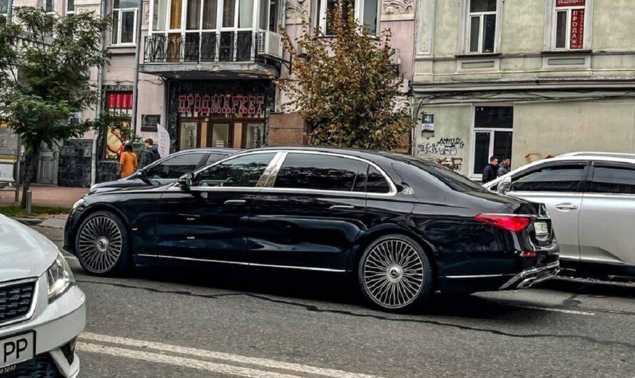 В Киеве заметили новейший Mercedes-Maybach за 5 миллионов