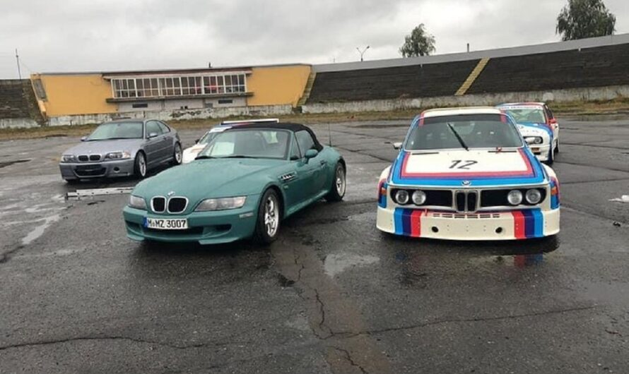 В Украину привезли самые легендарные BMW M всех времен