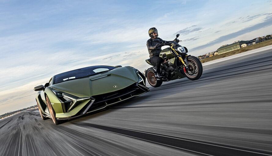 В Украине появился эксклюзивный 2-колесный Lamborghini (фото)