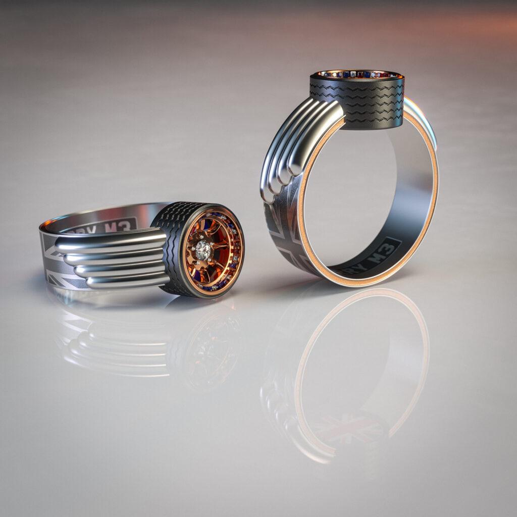 Обручальные кольца стали делать из катализаторов старых автомобилей 3