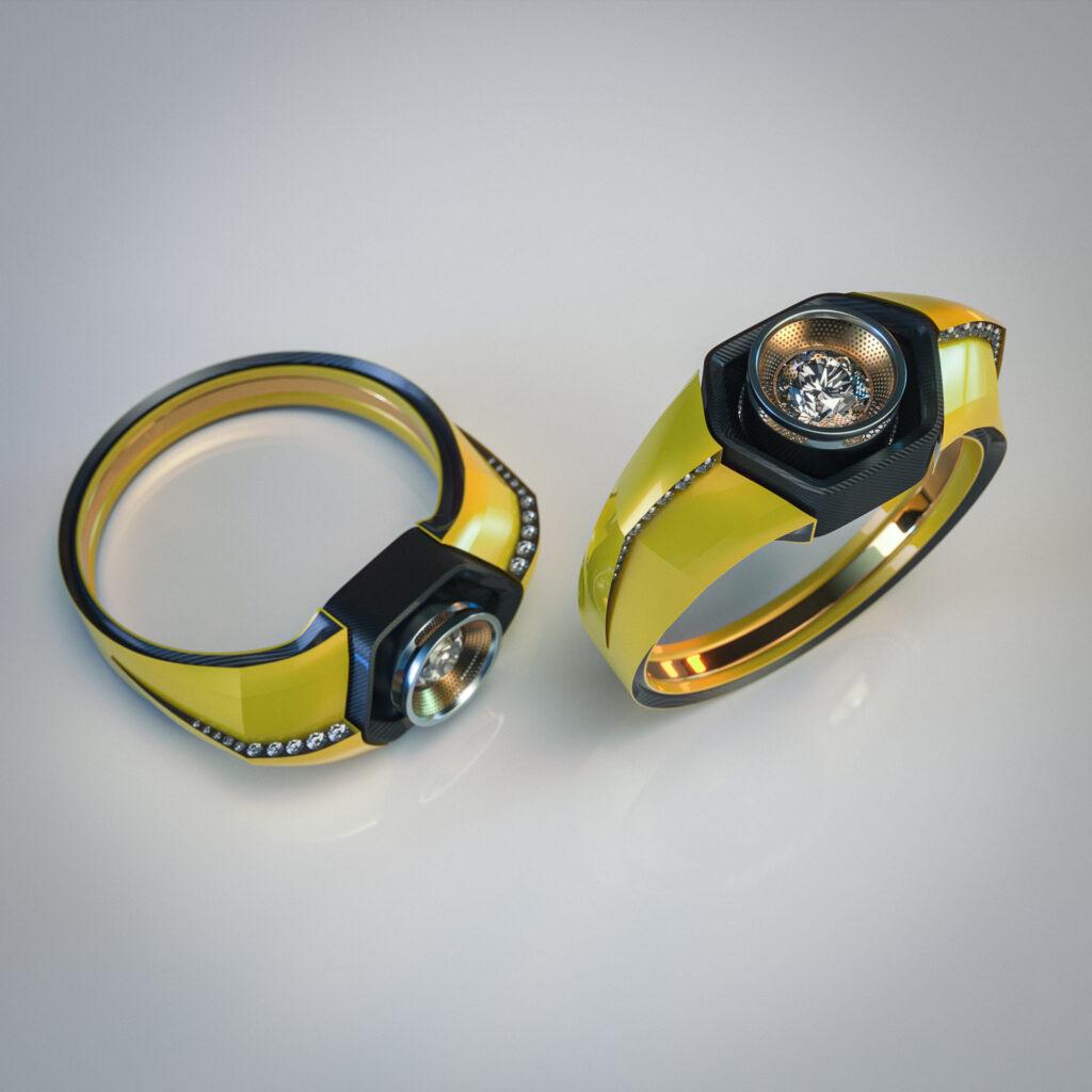 Обручальные кольца стали делать из катализаторов старых автомобилей 1