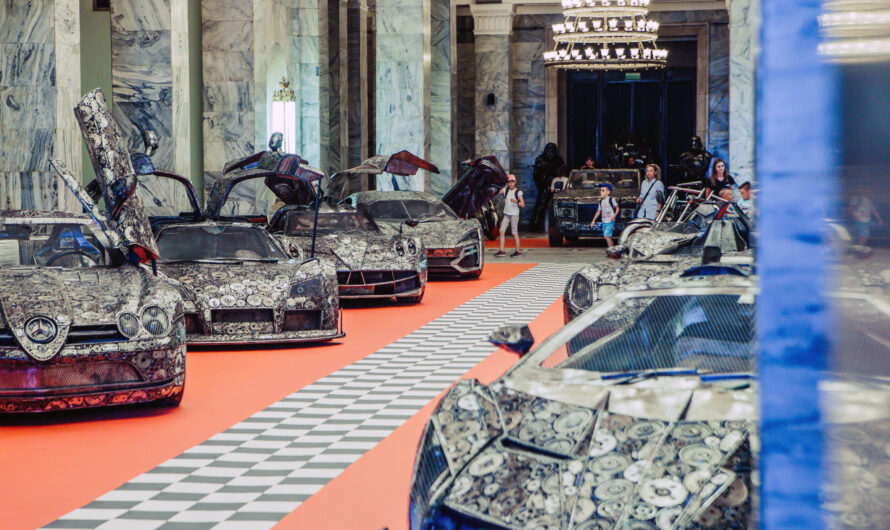 В Украину привезут сделанные из металлолома Pagani и другие суперкары (фото)