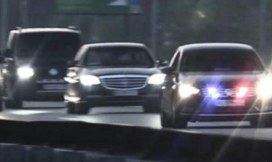 Появилось видео усиленного кортежа Зеленского после покушения на Шефира