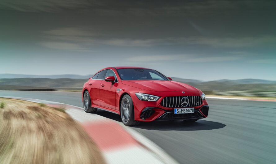 Mercedes показал сверхмощного конкурента Porsche Panamera