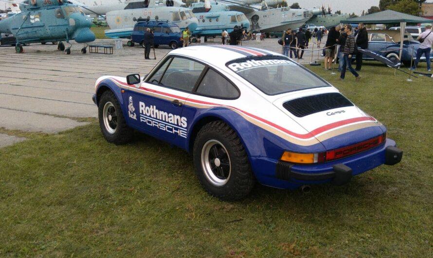 В Украине воссоздали внедорожный спорткар Porsche 911 (фото)
