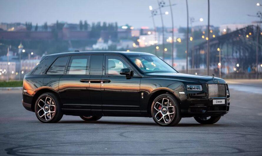 Представлен самый необычный лимузин Rolls-Royce для олигархов