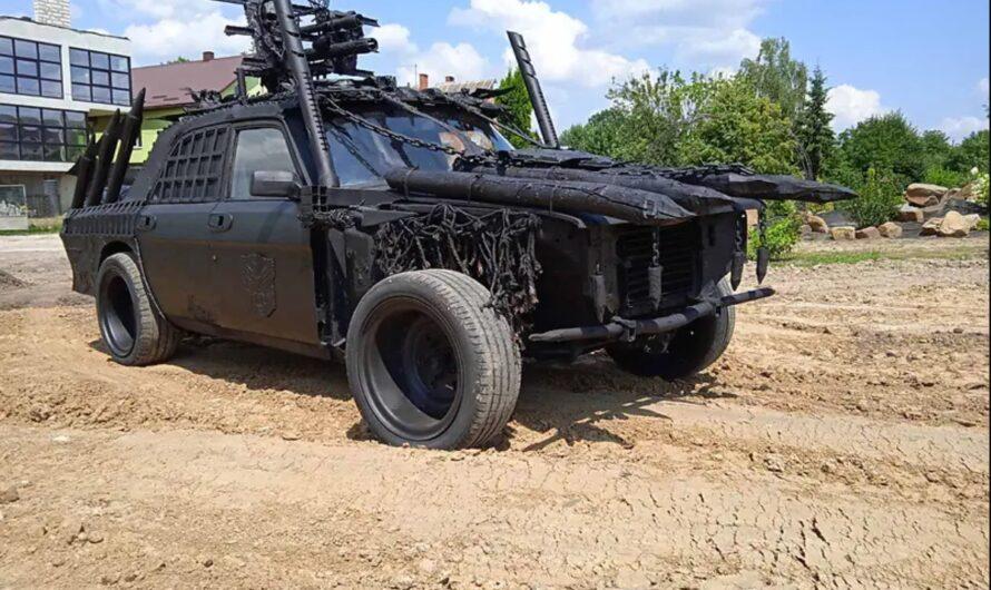Украинец сделал постапокалиптический автомобиль (фото)