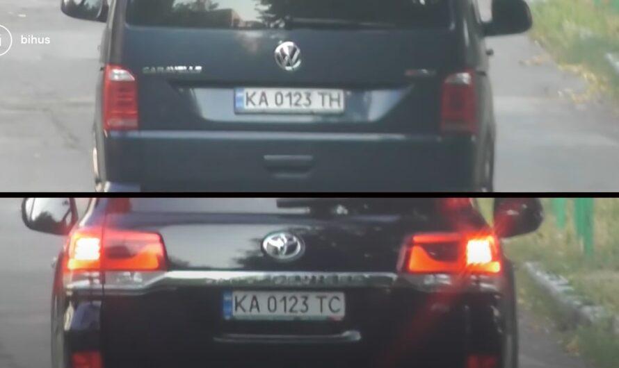 В Сети появилось видео кортежа серого кардинала Украины