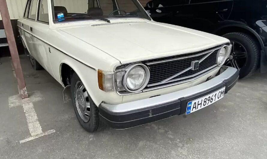 В Украине обнаружили редкий Volvo 70-х в оригинальном состоянии