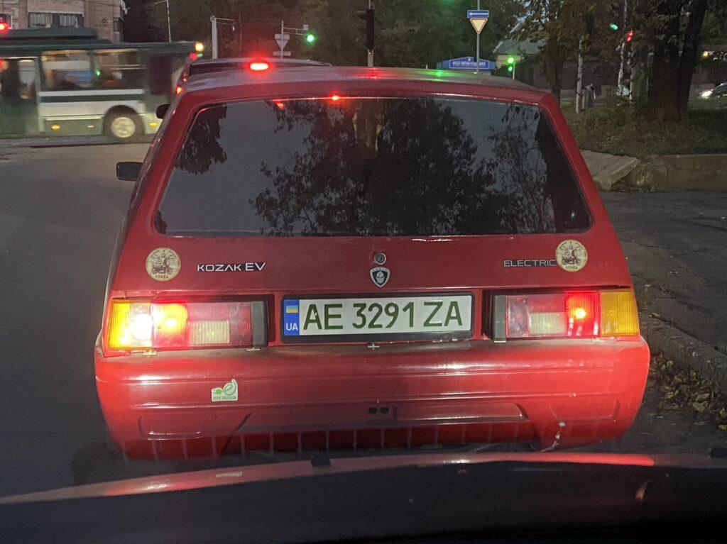 Украинский электромобиль Kozak EV заметили на дорогах (фото) 1