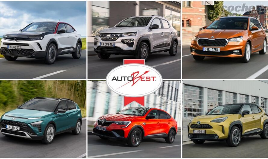 Названы лучшие 6 новых автомобилей в Европе