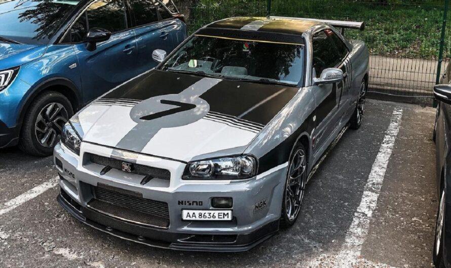 В Украине засняли культовый японский спорткар 90-х
