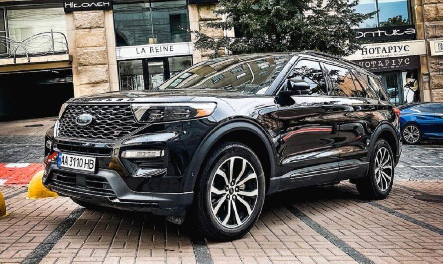 Заряженный Ford Explorer ST уже в Украине (ФОТО)