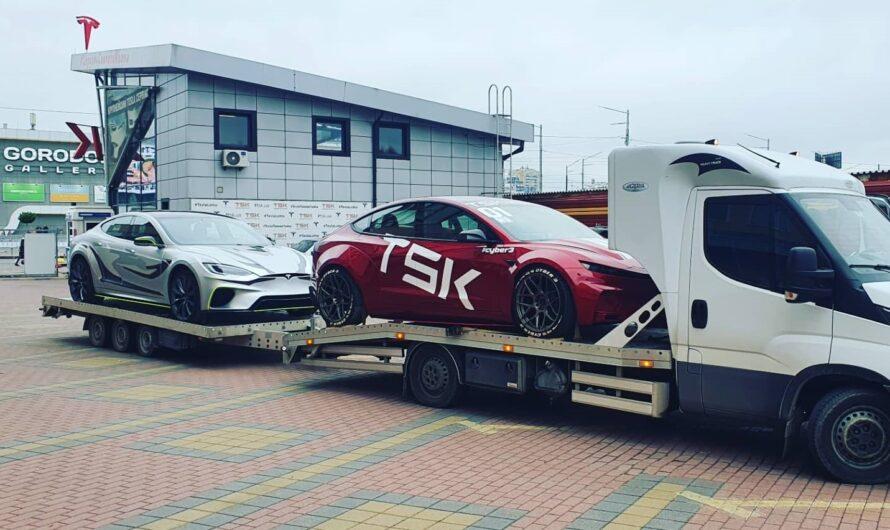 Модифицированная в Украине Tesla станет звездой тюнинг-шоу в США (видео)
