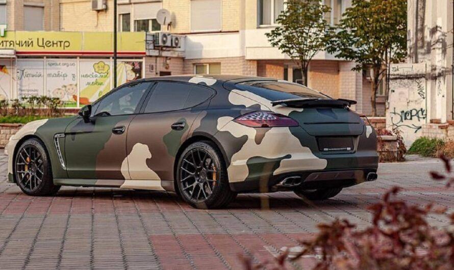 В Украине растет количество военизированных суперкаров (фото)