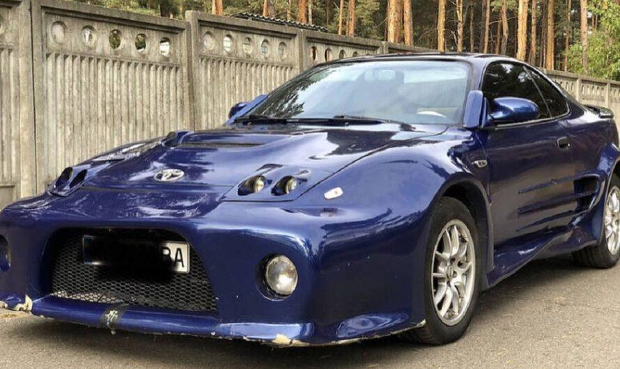 В Украине выставили на продажу Тойоту с тюнингом в духе Форсаж 1