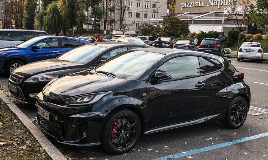 В Украину привезли лучший спорткар 2021 года от Toyota