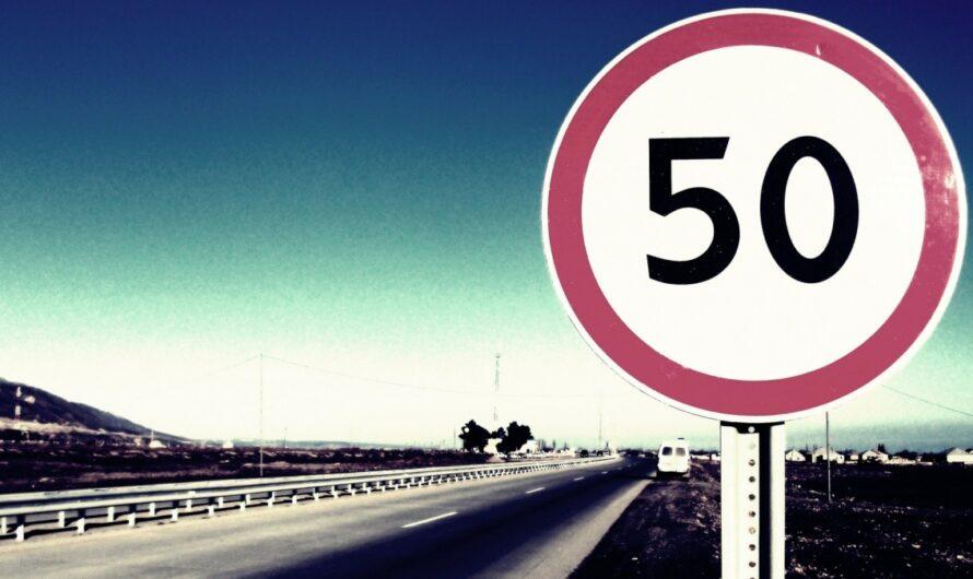Превышение скорости на 50 км/ч и больше может стать причиной лишения прав