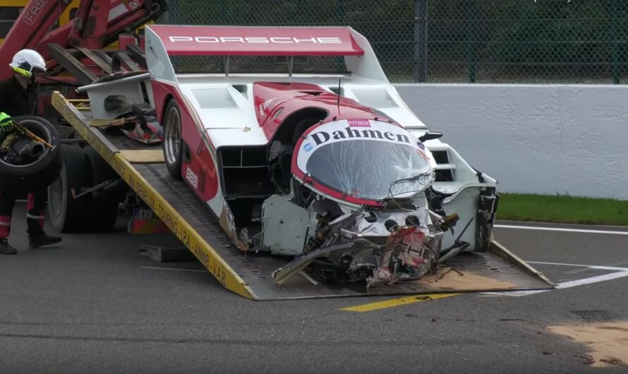 Раритетный Porsche за $1,2 миллиона разбили в эффектном ДТП (видео)