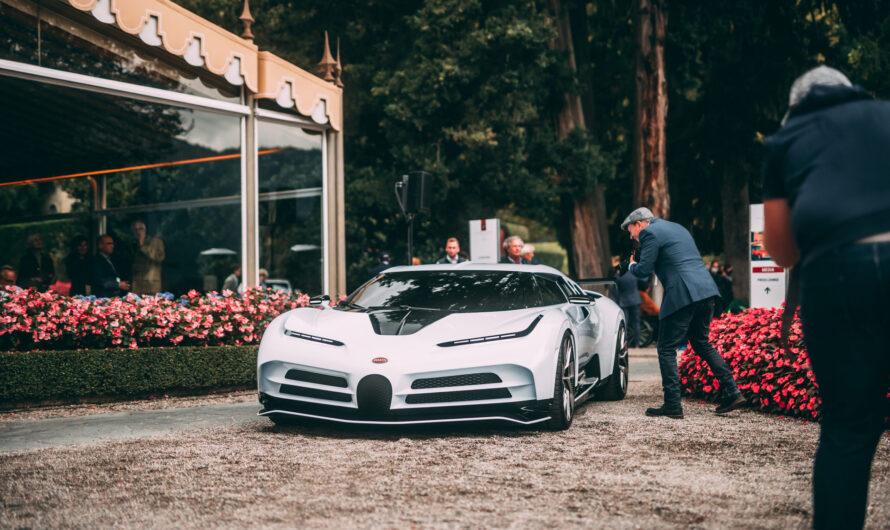 Bugatti презентовала наследника суперкара девяностых EB110