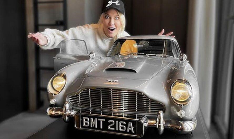 Игрушка Бонда: что представляет собой масштабная модель Aston Martin за $250 тысяч