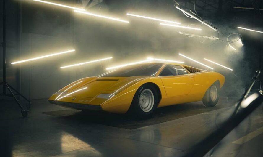 Lamborghini показала первый экземпляр возрожденного Countach 2022