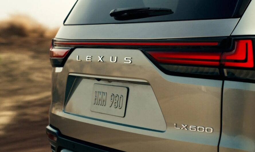 Новый Lexus LX 2022 показался на первых фото и видео
